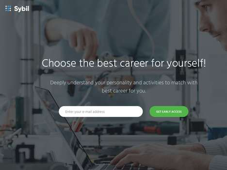 Educational Career Apps - 'Sybil' Delivers Career Advice for Students Based on Personality