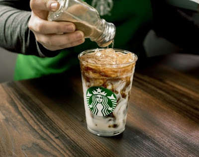 Cinnamon Spiced Iced Coffees - Starbucks' New Iced Cinnamon Almondmilk Macchiato is a Sweet Treat