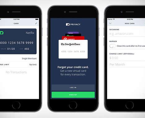 Online Transaction Card Apps