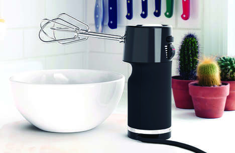 Ergonomic Kitchen Mixers - The 'CILO' Hand Mixer Stands Upright to Keep Counters Clean