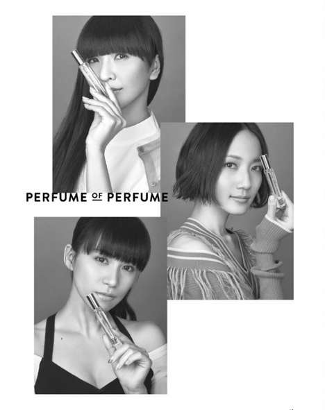 Energizing Band Perfumes - Japan's 'Perfume' Music Group is Now Launching Its Own Fragrance