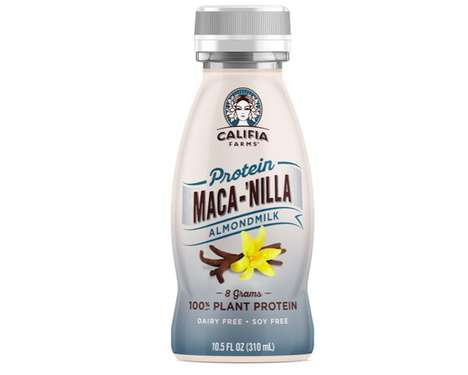 Energizing Nut Milks - Califia Farms' Newest Plant Milk Boasts Maca and Eight Grams of Protein