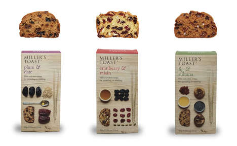 Tiny Twice-Baked Toasts - Artisan Biscuits' Miller's Toast is Baked Twice Like Biscotti