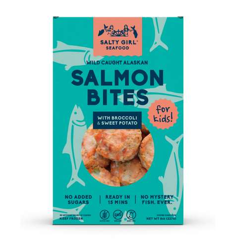 Kid-Friendly Salmon Bites - Salty Girl Seafood's Newest Product is Specifically Designed for Kids