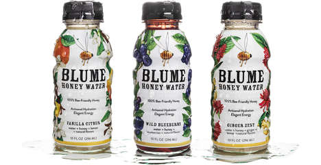 Fruity Honey Water - Blume Honey Water Introduces a New Kind of Water with Honey