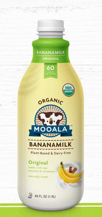 Banana-Based Milks - Mooala's Plant-Based Milk is Made with a Base of Bananas