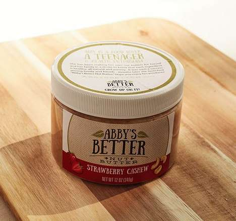 Simplified Nut Spreads - Abby's Better Nut Butter Spreads Boast Just Five Ingredients or Less