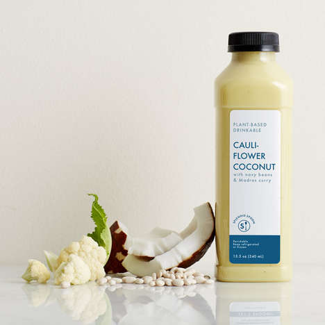 Cruciferous Vegetable Drinks - Splendid Spoon's Cauliflower Drink is Like a Bottled Hearty Soup