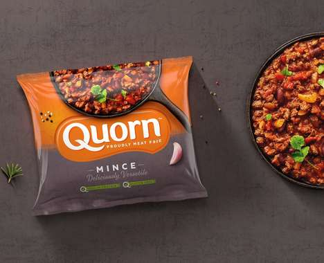 Meatless Product Packaging