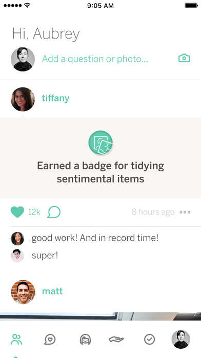Inspirational Tidying Apps - 'KonMari' Motivates One to Simplify Their Life the Marie Kondo Way