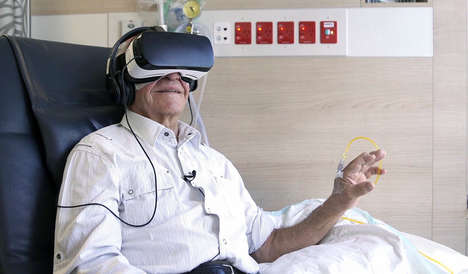 VR Escapism Programs - This Chemotherapy Patient Program Uses Virtual Reality as a Form of Escape