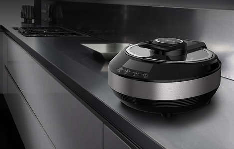 Automated Stir Fry Appliances - The 'Taurus' Appliance Makes Stir Frying a Hands-Off Experience