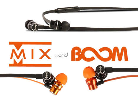 Genre-Specific Headphones - The PUMP Audio 'MIX and BOOM' Audio Headphones are for Electronic Music