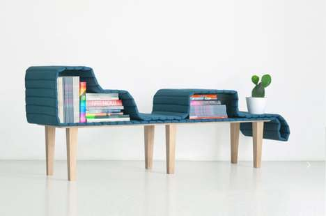 Shape-Shifting Benches - The 'Operio' Furniture Bench Changes According to Needs or Preferences