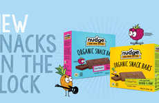 Nudge's Organic Snack Bars are Made with Nutrient-rich Superfoods