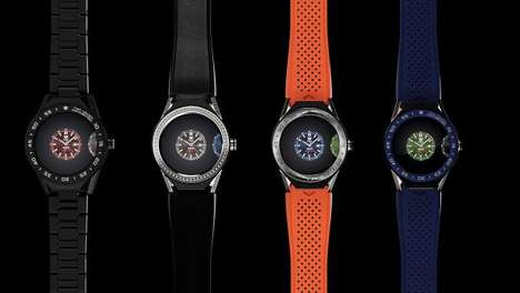 Modular Timepiece Smartwatches - The TAG Heuer Connected Modular 45 Has Interchangeable Hardware