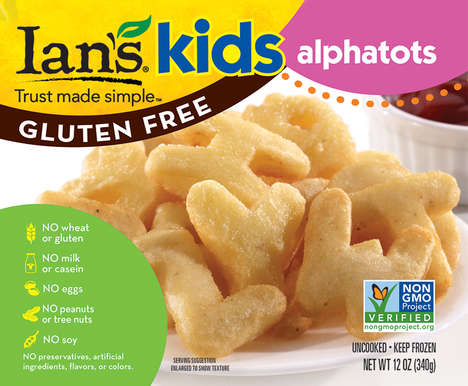 Free-From Kid's Meals - The Ian's Natural Foods Kid's Line is Suitable for Alternative Diets