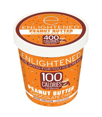 Healthy High-Protein Ice Creams - The Enlightened Flavored Ice Creams are Low in Sugar and Fat