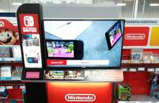 Best Buy's Nintendo Switch Display Features Interactive Videos