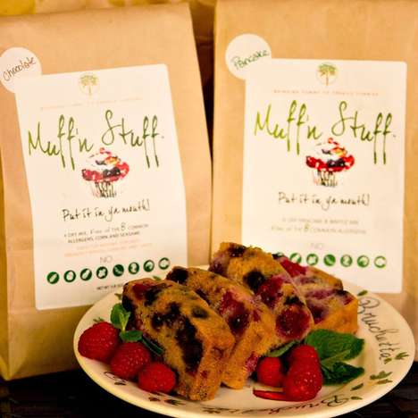 Allergy-Friendly Baking Mixes - The Muff'n Stuff Baking Mixes are Made Without Common Food Allergens