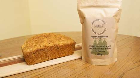 Tree-Infused Baking Mixes - Snowdon House's West Coast Bread Mix is Infused with Douglas FirEssence