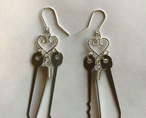 Lock-Picking Earrings