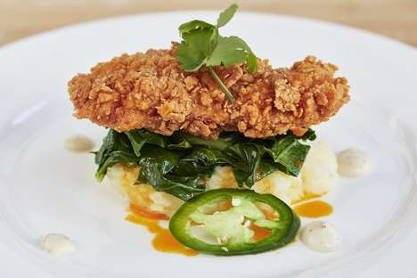 Sustainable Lab-Grown Poultry - The Memphis Meats Lab-Grown Chicken was Unveiled in Two Dishes