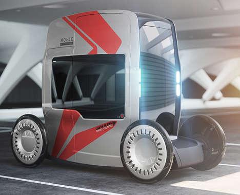 Tall Self-Driving Vehicles