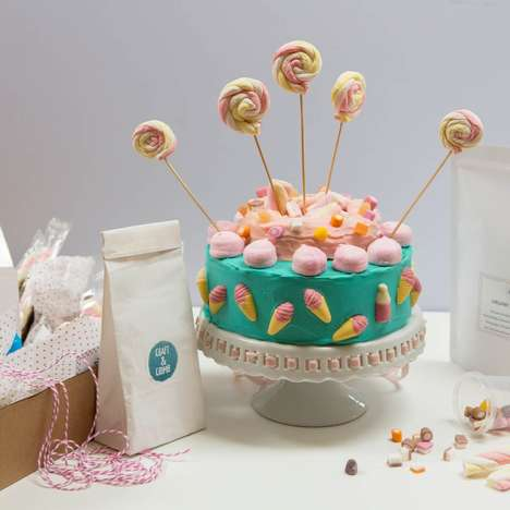 DIY Cake Kits - Craft & Crumb Makes It Easy for Consumers to Bake and Decorate Cakes at Home