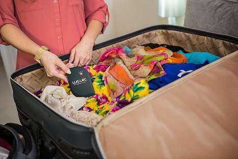 Luggage-Tracking Devices - The 'LugLoc' Luggage Locator Helps You Find Your Lost Baggage