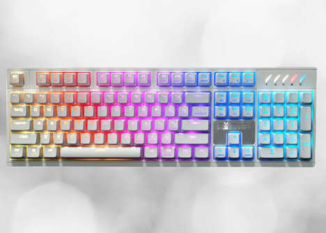 Chromatic PC Gamer Keyboards - The Zalman ZM-K900M Mechanical Gaming Keyboards are Customizable