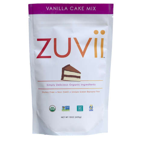 Banana-Based Baking Mixes - Zuvii's Organic Mixes for Baking are Formulated with Banana Flour