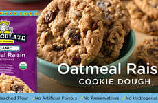 Immaculate Baking's Newest Product is Organic Oatmeal Raisin Cookies