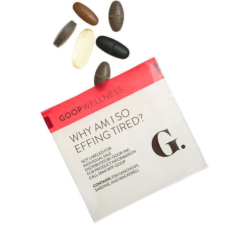 Women's Wellness Supplements - 'goop Wellness' Introduces Supplements for Women from Gwyneth Paltrow