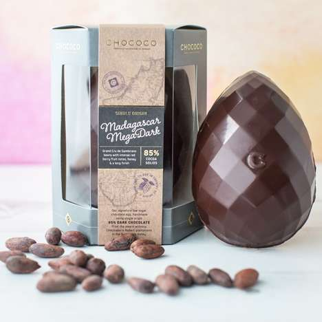 Single-Origin Chocolate Eggs - Chococo's Chocolate Eggs for Easter Boast Cocoa from a Single Source