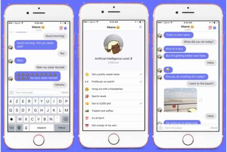 AI Friendship Apps - 'Hugging Face' is a Mobile Chat Bot That Offers Companionship