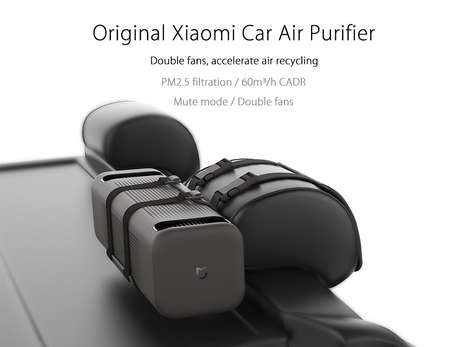 Powerful Vehicular Air Purifiers - The Xiaomi Car Air Cleaner Optimizes the Air Inside the Cabin