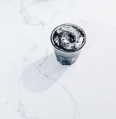 Detoxifying Charcoal Lattes - RAWBERRY's Unique Black Latte Cleanses the Liver