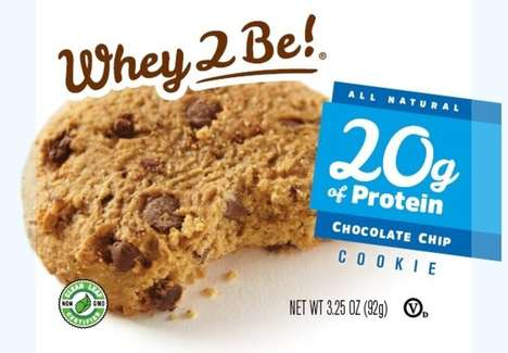 Whey Protein Cookies - Whey 2 Be! Reimagines Classic Chocolate Chip Cookies with Protein