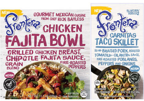 Frozen Mexican Meals - Frontera Foods is Now Introducing Its First-Ever Frozen Products