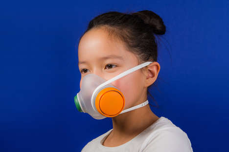Kid-Friendly Pollution Masks - 'Woobi' is an Anti-Pollution Mask Encourages Kids to Put It Together