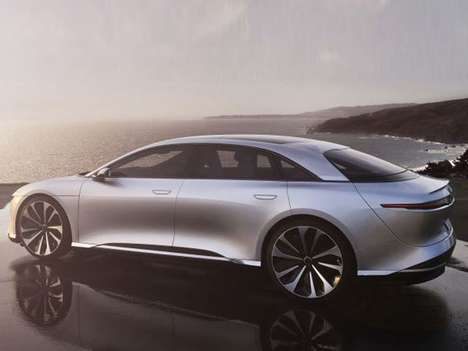 Competitively Priced Electric Cars - The Lucid Motors Air Will Cost Less Than a Tesla Model S