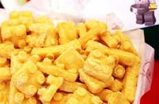 Toy Brick Fried Foods