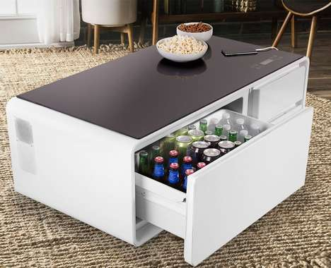 Connected Refrigerator Coffee Tables