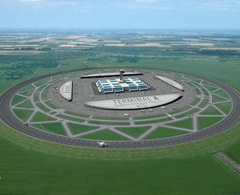 Spherical Runway Airport Designs