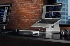 Stationary Laptop Docks - The Elgato Thunderbolt 3 Laptop Dock Stations Expand Capabilities