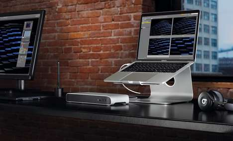 Stationary Laptop Docks - The Elgato Thunderbolt 3 Laptop Dock Stations Expand Capabilities