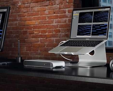 Stationary Laptop Docks