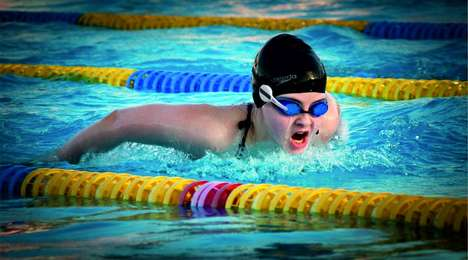Smart Swimming Trainer Devices - The 'Ovao' Attaches to Your Swimming Goggles for Intuitive Training