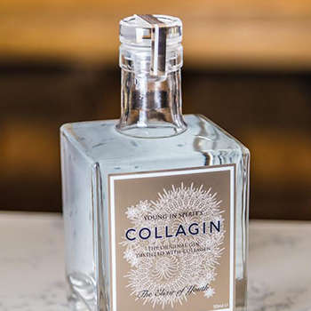 Collagen-Distilled Gins - 'CollaGin' is a New Gin That's Distilled with Pure Collagen
